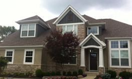 Home that received exterior painting in Columbus,OH