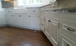 Kitchen cabinets painted in Columbus,Oh